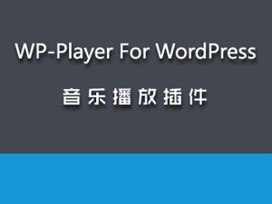 WP-Player For WordPress 音乐插件